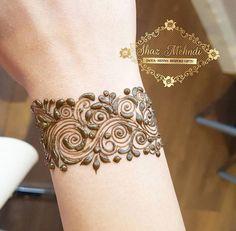 New tattoo wrist lace henna designs ideas Henna Art Designs, Mehndi Designs For Beginners, Modern Mehndi Designs, Mehndi Design Pictures, Mehndi Designs For Fingers, Beautiful Henna Designs, Latest Mehndi Designs, Mehandi Designs, Mehndi Images