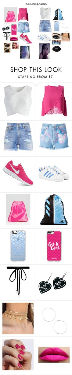 """Different Types"" by malaysiasmith21 on Polyvore featuring Chicwish, Miss Selfridge, R13, Forte Couture, NIKE, adidas Originals, adidas, Casetify, Joomi Lim and Witch Worldwide"