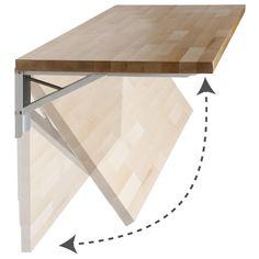 Laundry Folding Station, Laundry Room Folding Table, Laundry Table, Folding Walls, Folding Laundry, Wall Table Folding, Camper Table, Fold Down Table, Fold Down Work Bench