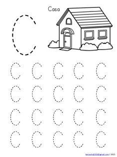 Abecedario en mayusculas con dibujos Handwriting Worksheets For Kids, Alphabet Tracing Worksheets, Printable Preschool Worksheets, English Worksheets For Kids, Kindergarten Math Worksheets, Preschool Writing, Numbers Preschool, Preschool Learning Activities, Manhattan