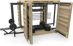 mobile fitness equipment