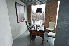 Необычный офис: Зелено и молодо: ottenki_serogo