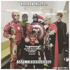 #Avengers7-2k15   allkpop Meme Center