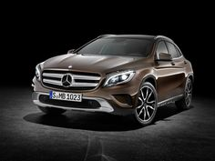 Mercedes-Benz GLA 220 CDI 4MATIC (X156) [Fuel consumption combined: 5,1-4,9 (l/100 km) CO2 emission combined: 132-129 g/km] #mbhess #mbcars #mbgla
