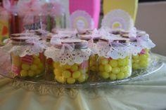 In baby food jars