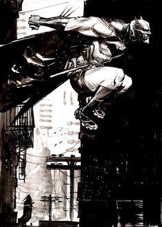 Batman / Art by Sean Gordon Murphy Dc Comics, Batman Comics, Image Comics, Comic Book Artists, Comic Artist, Comic Books Art, Im Batman, Batman Robin, Batman Artwork