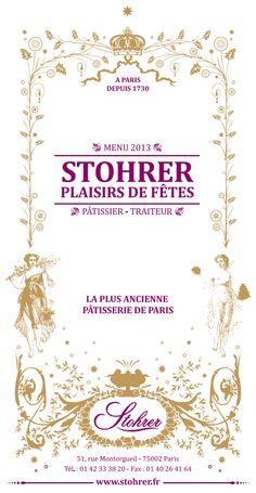 Le nouveau catalogue pour les fêtes de fin d'année ! (2013) : Apéritifs, entrées chaudes et froides, plats et poissons, bûches et entremets.