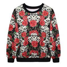Rock Rock mulheres harajuku camisa impressão 3d crânio sangrento zombie mulher marca designer novidade t shirt tops & t camisetas y cobre em Camisetas de Roupas e Acessórios Femininos no AliExpress.com | Alibaba Group