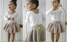 E-Book Häkelanleitung Ballerina Tutu Rock Your little girl absolutely needs this tutu or the skirt for girls // Ballerinas. Begin with the step by step guide to crocheting. - Do It Yourself images attach d 1 133 175 Do it yourself also known as DIY is th Kids Tutu, Tutus For Girls, Kids Outfits Girls, Baby Outfits, Knitting For Kids, Crochet For Kids, Baby Knitting Patterns, Crochet Pattern, Ballerina Tutu