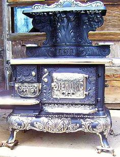 I don't know where it came from, but I have a special lace in my heart for vintage stoves.  They must have such stories to tell .   Double, ...