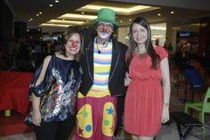 Ilonka Abreu, Dante Cucurullo y Rosanna Encaranción durante la celebración del concierto de Payasos en Galería 360