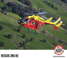 Waikato Westpac Rescue Helicopter relies on your vital support. Please help keep our rescue helicopters flying by donating today at Rescue.org.nz