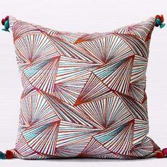 Luxury Orange Changing Geometric Pattern Tassels Pillow 2... https://www.amazon.com/dp/B01DG13PDI/ref=cm_sw_r_pi_dp_-vkyxbP6ZYARE