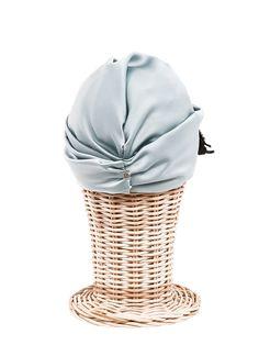 Comprar online Turbantes Fashion con Tocados y Broche de pedrería en forma  de hoja en la addad2a3328