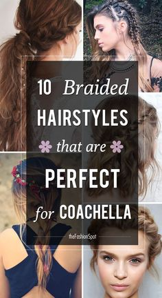 Festival style just calls for a bevy of braids! Perfect for Coachella.