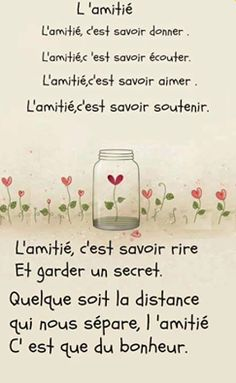 Super ideas for quotes friendship friends words The Words, More Than Words, Cool Words, Best Friend Quotes, New Quotes, Funny Quotes, Inspirational Quotes, French Poems, French Quotes