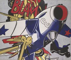 Blam, 1962 by Roy Lichtenstein (American, 1923–1997)