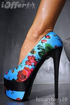 I love this print....on the shoe