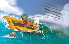 Timo and the Kingfish by Sam Bunny, via Behance