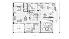 Iluka 302 - Element, Our Designs, Brisbane North Builder, GJ Gardner Homes Brisbane North