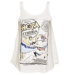 KAWAII - Fashion  /  Ladies She-Ra Etheria World Tour 87 Swing Vest