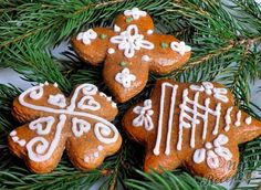 Gingerbread Cookies, Cookie Recipes, December, Favorite Recipes, Sweets, Christmas Ornaments, Baking, Holiday Decor, Cake