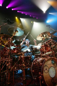 The master behind the drums,  He is the reason why I started playing drums at a young age.