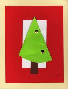 Christmas Tree, Greeting Card