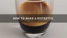 Learn the simple steps on how to make a ristretto shot, what's a ristretto bianco, and how to make a ristretto with Nespresso machines. Coffee Magazine, Nespresso Machine, Espresso Shot, Thirty Seconds, Brewing, Drinks, Simple, Desserts, Easy