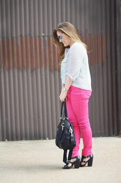 Walking in Memphis in High Heels: Trend Spin Linkup - Neon