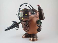 steampunk toy Its like a steampunk minion