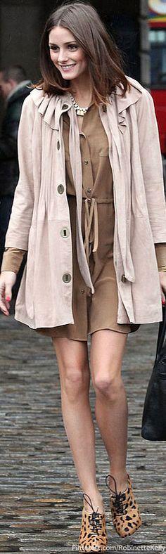 Street Style | Olivia Palermo- love the coat especially. xo.