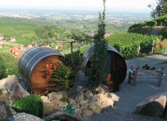 Its a hobbit house! Stay in a Giant Wine Barrel Room Overlooking The Black Forest in Germany Black Forest Germany, Barris, Tiny House Swoon, Ice Hotel, Beste Hotels, Green Building, Germany Travel, Hotels And Resorts, Places To See