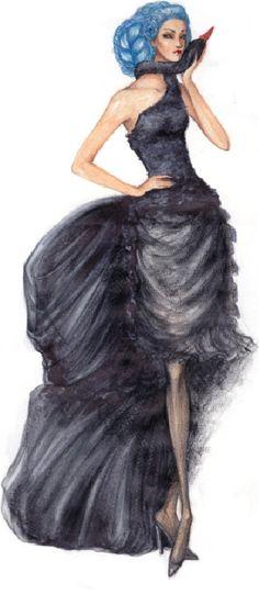 Alexander McQueen for Givenchy, Fall 97-98