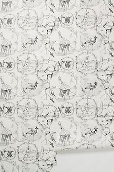 88.00 this could work in the back of a bookcase or closet, or maybe as an accent wall.  -- Kalahari Vignettes Wallpaper #anthropologie