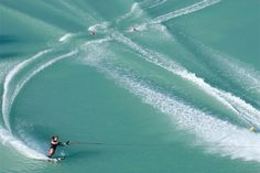 Learn how to drive like a water ski tournament pro.