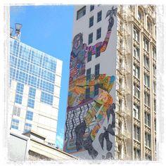 Beautiful new mural by @zioziegler  #art#mural#zioziegler#streetart