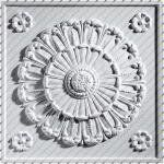 "2' x 2' Medallion Translucent Ceiling Tiles by Ceilume. $5.95. 2' x 2'. Made from 0.013"" thick, vinyl plastic. Class A Fire Rated. Volume pricing as low as $4.25. Installs in standard, 1"" T-bar, and will not work in 1/2"" or 9/16"" slim-line grids. Medallion Ceiling Tiles in translucent create a lighting effect that is both soothing and illuminating and give you more traditional elegance for the money than any other suspended ceiling tile on the market today!"