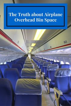 A flight attendant's thoughts on airplane overhead bin space.