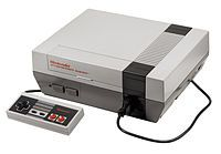 the first Nintendo... ahhh an the games u had to blow in to make them work after shaking the top of the box lol !!!