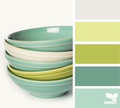by design seeds <3  love these colors--fiesta ware is pretty close