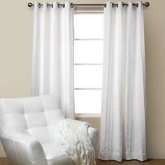 Mitoni Curtain Panels - contemporary - curtains - Annemarie