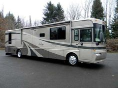 2004 Used Winnebago JOURNEY Class A in Washington WA.Recreational Vehicle, rv, 5 Year Comprehensive Service Contract included on this Low Mileage, Quality Diesel Pusher with 3 Slides. Full Body Paint, HDTVs, Digital Satellite, Outside Entertainment Center, Power Awning, Inverter, Solar Charger, 330 HP, and more! Opposing Slides in Living Room makes this very spacious. Excellent counter space.Cummins ISC 8.3l 330 HP Diesel Engine with only 28,8oo Miles; Allison 6-Speed Automatic Transmission…