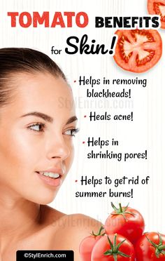 Tired of using chemical cosmetics for skin? Are you looking for natural ways to keep your skin glowing & healthy? Let's see the tomato benefits for skin! Tomato For Skin, Tomato Face Mask, Beauty Tips For Skin, Skin Care Tips, Beauty Secrets, Teen Beauty Tips, Beauty Ideas, Diy Beauty, Skin Tips