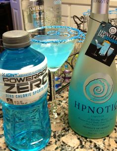 Seriously the best low-calorie drink my sis has made! Blend it up with ice and drink up!!