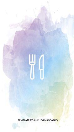 Templates for Instagram Highlights Stories by @helloanascanio / Plantilla para destacados de Instagram Stories Instagram Logo, Instagram Design, Free Instagram, Instagram Feed, Pastel Highlights, Story Highlights, Tumblr Wallpaper, Wallpaper Iphone Cute, Insta Snap
