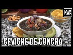 CEVICHE DE CONCHA Cilantro, Comida Latina, Antipasto, Relleno, Ecuador, Acai Bowl, Oatmeal, The Creator, Tasty