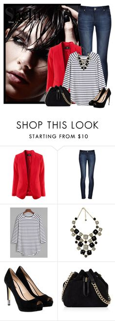 """Sin título #2008"" by miushka ❤ liked on Polyvore featuring DL1961 Premium Denim, GUESS and Karen Millen"