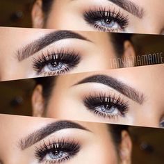 Want perfect eyebrows - Discover ABH's latest brow makeup, fillers, tools and tips at Anastasia Beverly Hills online. Makeup Goals, Beauty Makeup, Hair Makeup, Best Lashes, Anastasia Brow, Brow Pomade, Winged Eyeliner, Pretty Eyes, Beautiful Lips