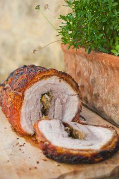 Поркетта / Porchetta | Элла Мартино Рецепты Кулинарные туры Итальянская кухня